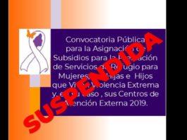 En un comunicado el Gobierno Federal dio a conocer que se suspende la Convocatoria Refugios 2019, atendiendo la decisión no transferir recursos...