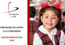 Ya se encuentra abierta la convocatoriaAnual 2019 de Fundación ACIR