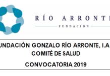 Fundación Río Arronte te invita a participar en la Convocatoria para presentar proyectos en el área de salud 2019