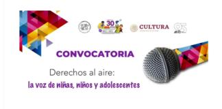 Concurso Derechos al aire la voz de niñas, niños y adolescentes