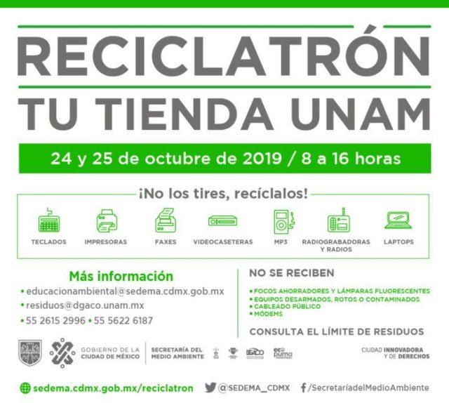 Participa en las jornadas de Reciclatrón