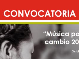 """Soriana Fundación, A.C. y Fundación Dibujando un Mañana, A.C., lanzan por cuarto año la convocatoria """"Música por el Cambio 2020""""."""