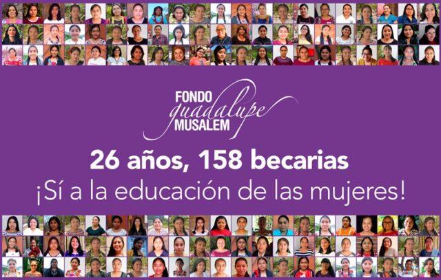 """Fondo Guadalupe Musalem A.C. inicia campaña de procuración de fondos 2021 """"Sí a la educación de las mujeres"""""""