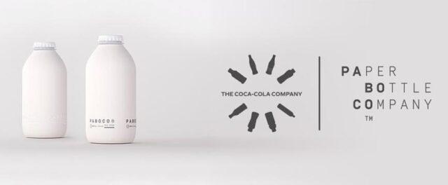 Coca Cola presenta su prototipo de botella de papel