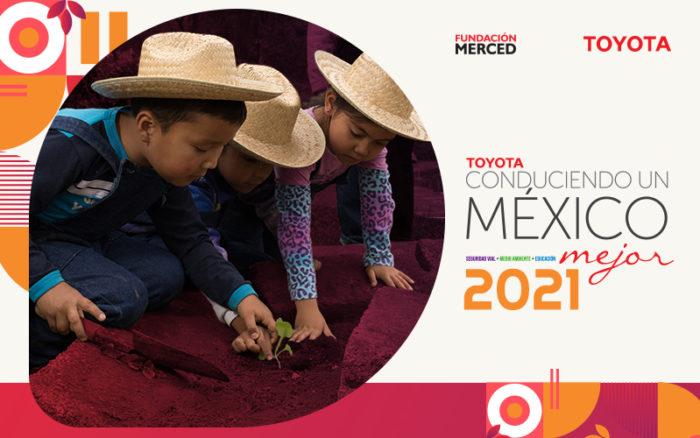 Convocatoria Toyota Conduciendo un México mejor