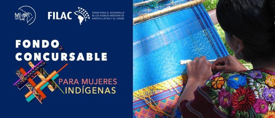Fondos concursable para mujeres indígenas