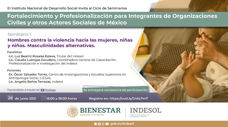 Inició el Seminario para fortalecimiento de la sociedad civil y otros actores