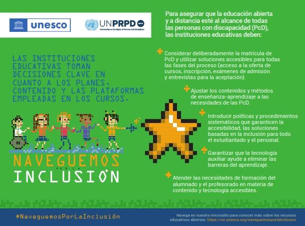 UNESCO lanza nueva campaña por educación inclusiva para personas con discapacidad