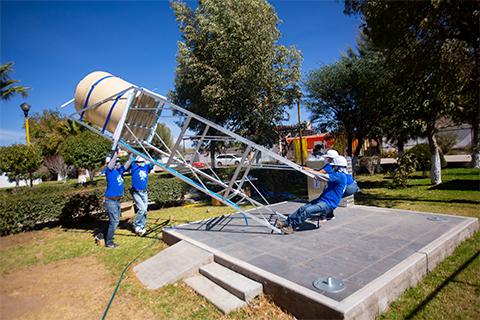 proyecto torre de agua