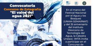"""Concurso de Fotografía """"El valor del agua 2021"""