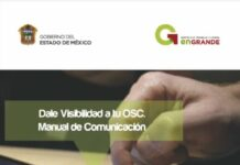 Dale visibilidad a tu OSC. Manual de Comunicación