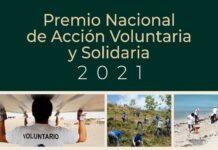 La convocatoria al Premio Nacional de Acción Voluntaria y Solidaria 2021, cierra el 10 de septiembre próximo
